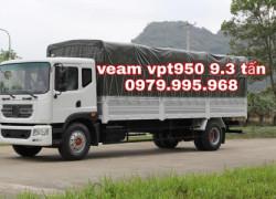Xe tải Veam VPT950 9.5 tấn,thùng dài 7.6m,động cơ Cumins,giá rẻ