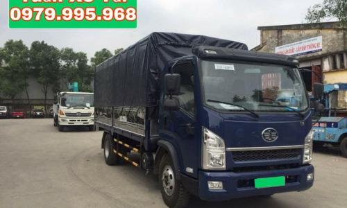 Xe tải Faw 6.95 tấn, thùng dài 5.1m, giá rẻ nhất thị trường