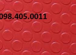 Thảm nhựa trải sàn nút trònmàu ghi giá rẻ Hà Nội 098 405 0011