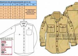 nhận thiết kế nhảy size  in sơ đồ tính định mức uniform