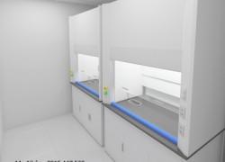 Chuyên thiết kế thi công bàn ghế nội thất phòng thí nghiệm