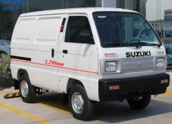 Xe tải chạy giờ cấm Suzuki Blind Van