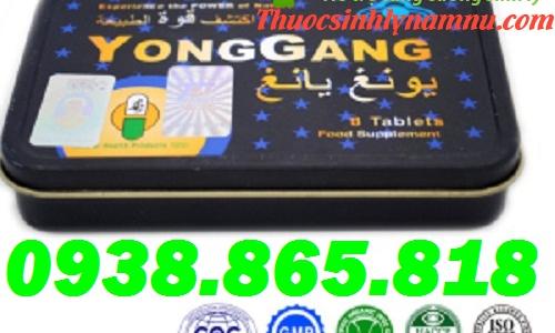 Thảo dược YongGang cho sức khỏe đàn ông vĩnh cương dài lâu