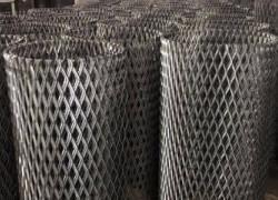 Lưới thép hình thoi, lưới trang trí sản xuất theo yêu cầu