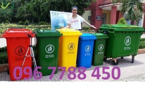 Thùng rác gia đình 240 lít giá rẻ Lhe 0967788450 Ngọc