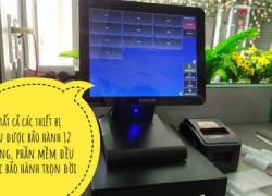 Máy tính tiền cho quán trà sữatại Đồng Tháp