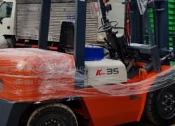 Xe nâng dầu 3500kg 3 mét càng Forklift tùy chỉnh