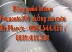 Băng quấn bitum chống ăn mòn ống kim loại Premcote101 Anh Quốc