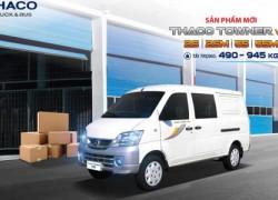 xe tải Thaco Towner Van 2chỗ vs 5 chỗ