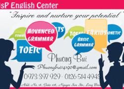 Ôn luyện tiếng Anh cơ bản, nâng cao, đại học, mới bắt đầu, trẻ em, Toeic tại MsP EC Long Biên Hà Nội