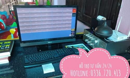 Bán trọn bộ máy tính tiền ở Nghệ An cho studio áo cưới