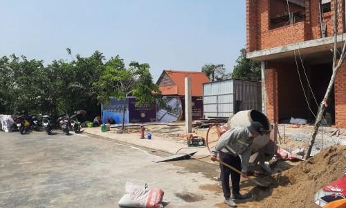 Nhà phố - Nhà Xinh Home Garden 1 trệt 2 lầu, SHR, ngân hàng hỗ trợ 70%