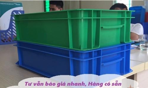 Thùng nhựa đặc B2, thùng nhựa, sóng nhựa bít b2, hộp nhựa B2, khay nhự