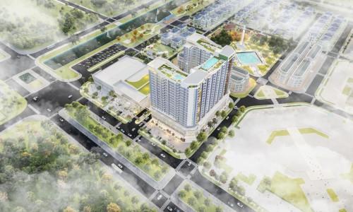 căn hộ cao cấp mặt tiền đường 60m, nằm ngay trung tâm thành phố