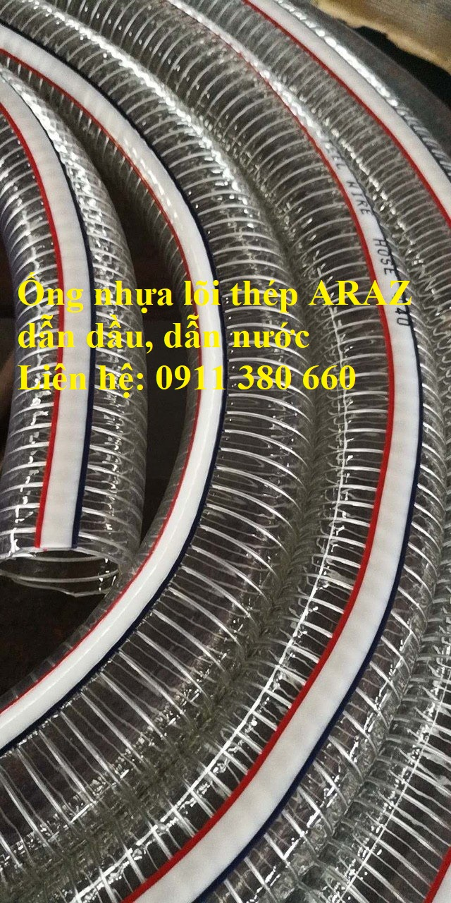 Chuyên cung cấp ống nhựa mềm lõi thép - ARAZ, hàng sẵn kho - NMH01