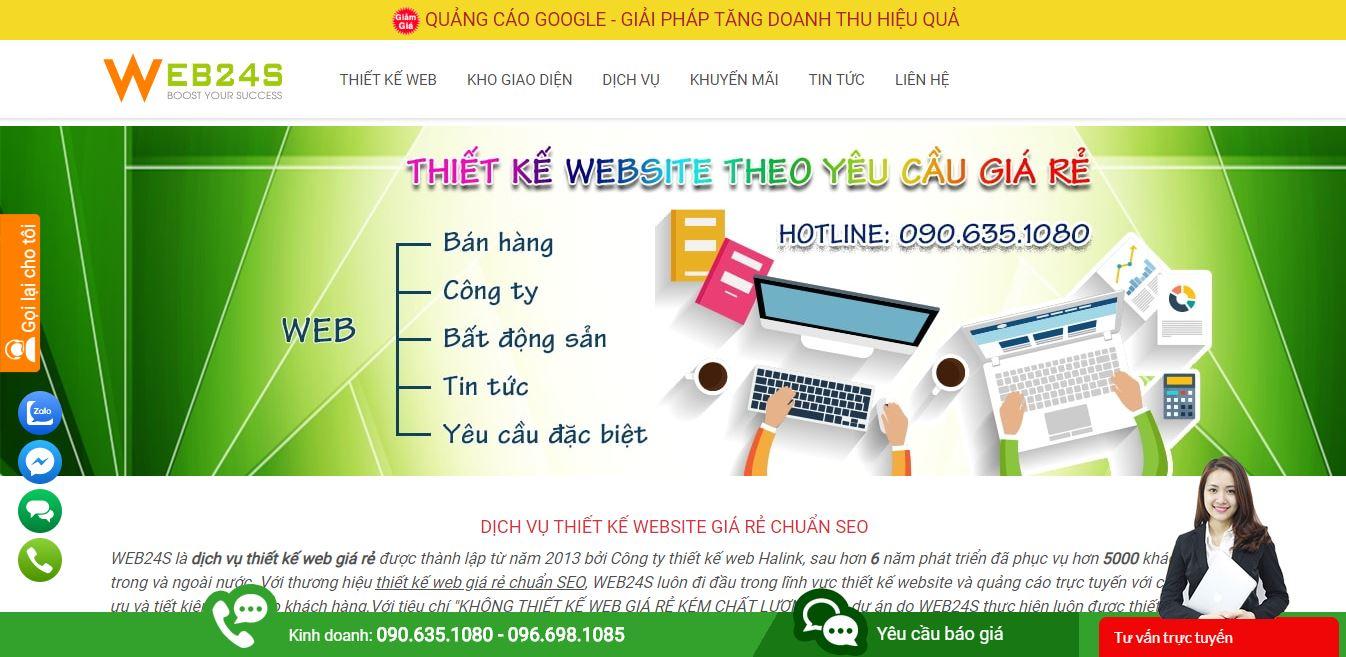VivaWeb - Dịch vụ thiết kế web giá rẻ chuyên nghiệp hàng đầu Việt Nam