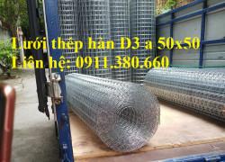 Lưới thép hàn D3a50x50 giá tốt nhất Hà Nội- Nhật Minh Hiếu