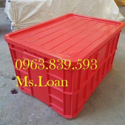 Sóng nhựa bít, hộp nhựa, thùng nhựa đặc chữ nhật rẻ / 0963.839.593 Ms.Loan