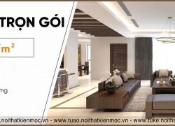 Thiết kế thi công nội thất chung cư, giá chỉ từ 150tr/1 căn
