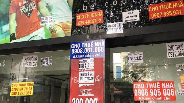 Tình trạng các mô hình bất động sản cho thuê khi dịch bệnh kéo dài