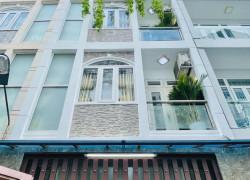 Nhà 4 tầng thiết kế cực đẹp Nguyễn Duy Cung P.12,GV: HXH 6m,full nội thất,giá rẻ