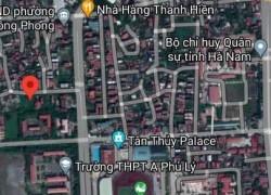Chính chủ cần bán đất phường Lê Hồng Phong, Phủ Lý, Hà Nam diện tích 260m2 miễn trung gian