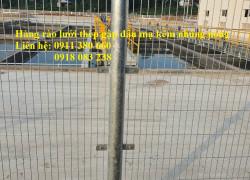 Lưới thép hàng rào mạ kẽm nhúng nóng- NMH10