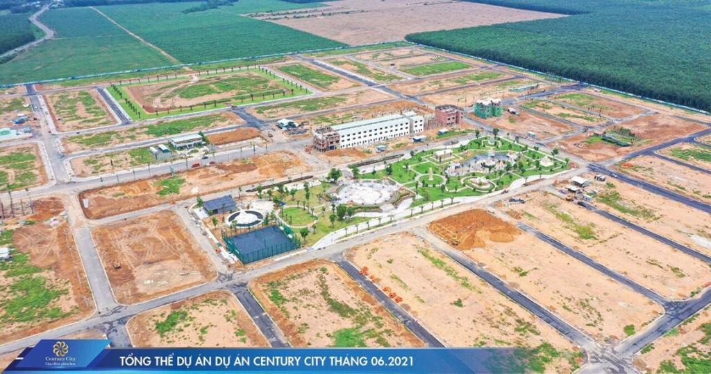 Bán đất nền gần Sân bay Long Thành, Century City mặt tiền DT769, Nh hỗ trợ 70%