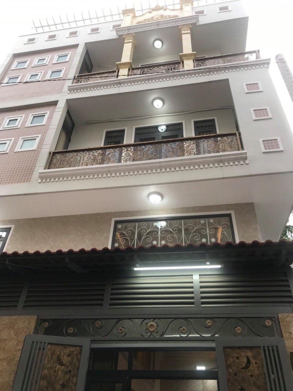 Nhà 5 tầng mới cóng,lô góc,HXH Nguyễn Văn Lượng,P.16,GV,giá mùa dịch
