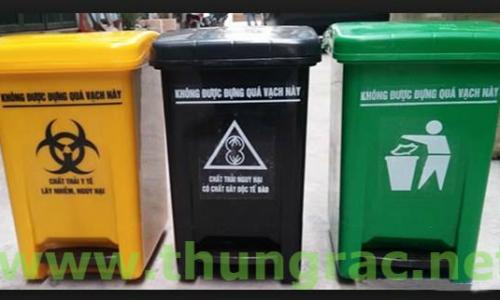 Cung cấp thùng rác y tế dùng trong bệnh viện - Ms Thanh 0913 819 238