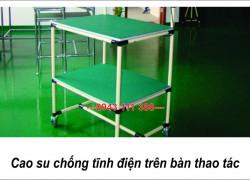 Thảm cao su chống tĩnh điện Bắc Ninh, Bắc Giang, ESD Rubber mat