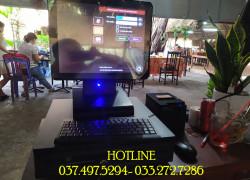 Máy tính tiền cảm ứng trọn bộ cho Quán ăn- Nhà hàng tại Quảng Trị