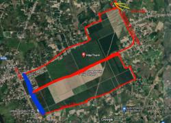 Bán đất 5x36 100%TC sát cổng KCN Hiệp Thạnh Gò Dầu Tây Ninh 370tr