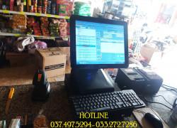 Chuyên lắp tận nơi máy tính tiền cảm ứng cho Siêu Thị Mini tại Bắc Giang