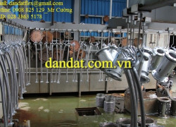 Ống mềm (chống rung) lắp ren Inox 304 316, Ống mềm inox công nghiệp, khớp nối mềm inox mặt bích, khop noi mem inox