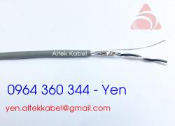 Cáp tín hiệu vặn xoắn Altek Kabel Al Foil (1x2x0.5mm2)