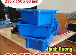 Hộp nhựa cơ khí A4, khay nhựa, thùng nhựa đặc