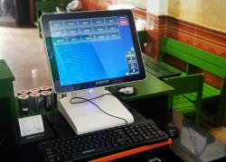 Combo máy tính tiền cảm ứng cho quán Sữa chua Hạ long tại Quảng Trị