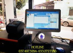 Máy tính tiền cảm ứng cho quán KARAOKE tại Ninh Thuận
