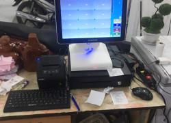 Trọn bộ máy tính tiền cảm ứng cho Quán ăn- Tiệm mỳ tại Đà Nẵng