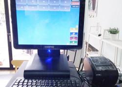 Bán máy tính tiền cảm ứng trọn bộ cho Quán Trà sữa- Ăn vặt tại Bắc Ninh