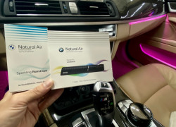 Sáp thơm BMW Natural Air Kit - Refill chính hãng