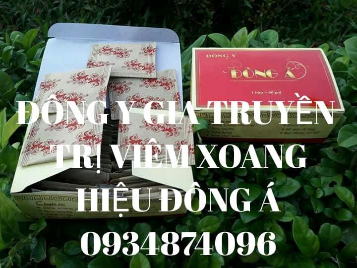 Thuốc trị viêm xoang Đông Á lương y Huỳnh Sum