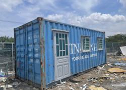 thùng container làm văn phòng