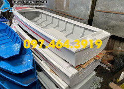 Xưởng sản xuất thuyền composite, ghe, vỏ lãi composite, vỏ cano composite, xuồng mũi nhọn composite