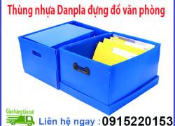 Thùng nhựa Danpla dùng trong văn phòng
