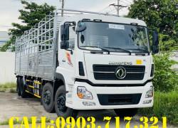 Xe tải Dongfeng 4 chân 17T9– 17.9 tấn ISL315 máy Cummins Euro 5