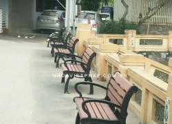 Ghế băng ngoài trời uy tín - chất lượng - giá rẻ