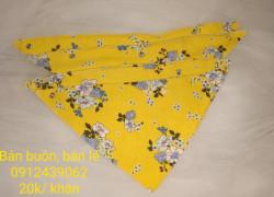 Tìm đại lý, NPP khăn tam giác siêu đáng yêu cho bé