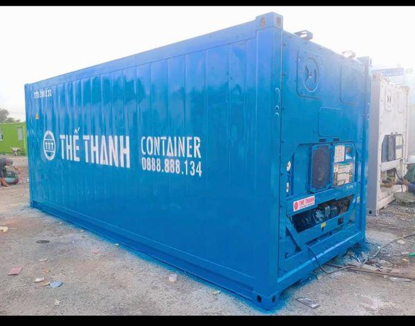 Thùng container lạnh 20feet làm kho lạnh